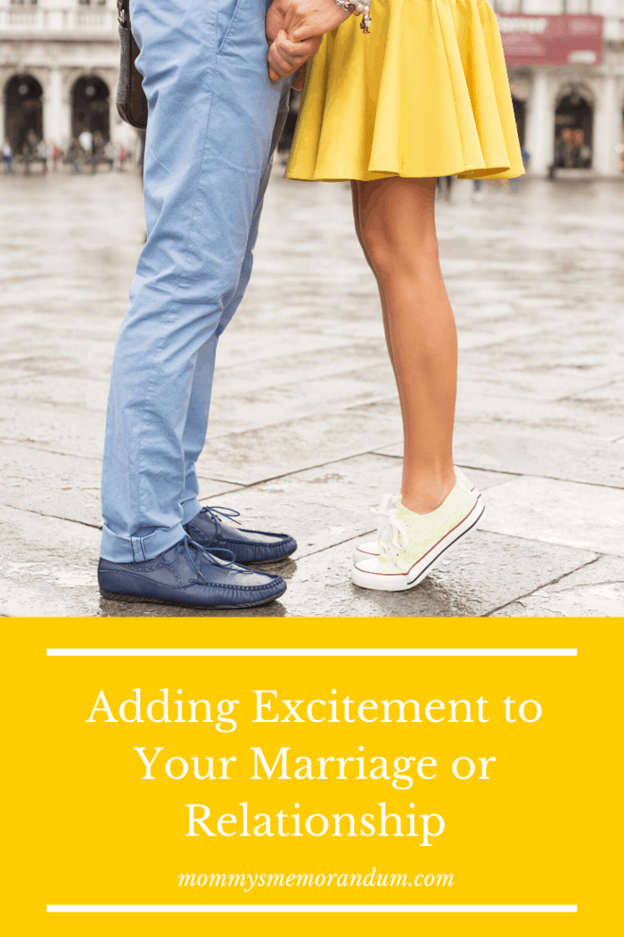 Here are 5 Ways to Add excitement to your marriage or relationship to rekindle your love for one another.