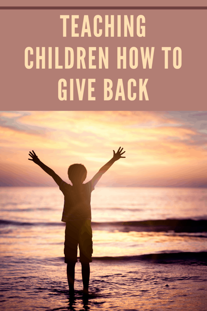 you can teach your children how to really give back and live a life filled with gratitude every single day.