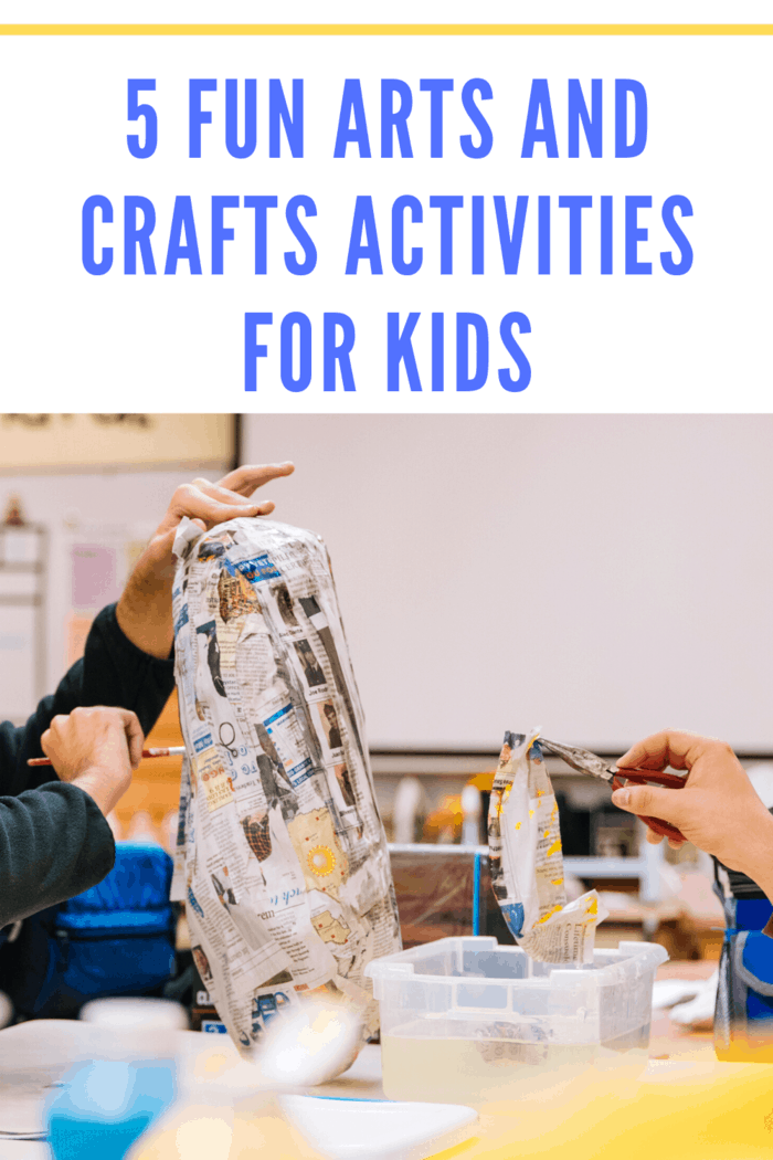 One of the most fun, tactile arts, and crafts activities is making paper-mâché.
