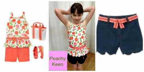 peachy keen Collage