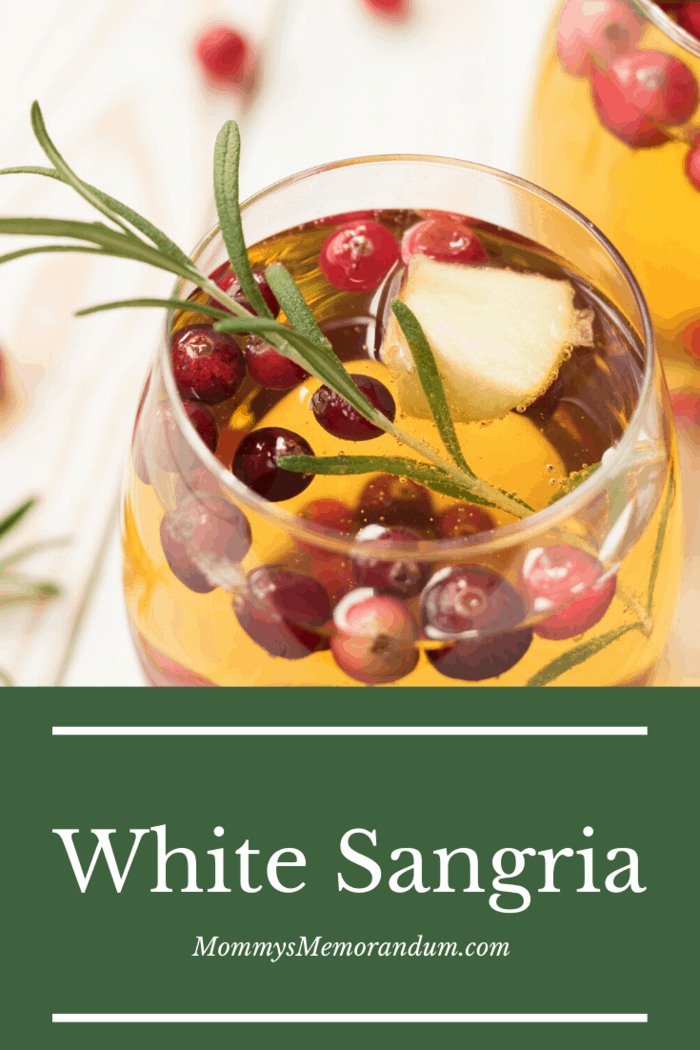 Sangria usually combines red or white wine, a liqueur, and soda for fizz.