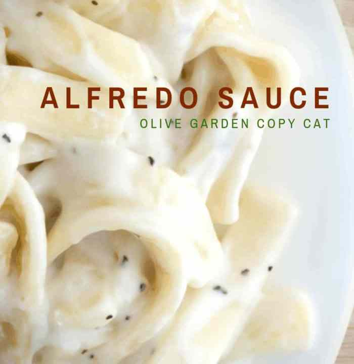 Copycat Olive Garden Alfredo Sauce Recipe You Make In Minutes