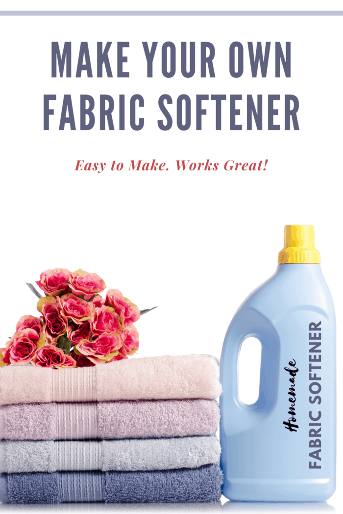 It's thebest homemade fabric softener recipe and perfect for sensitive skin.