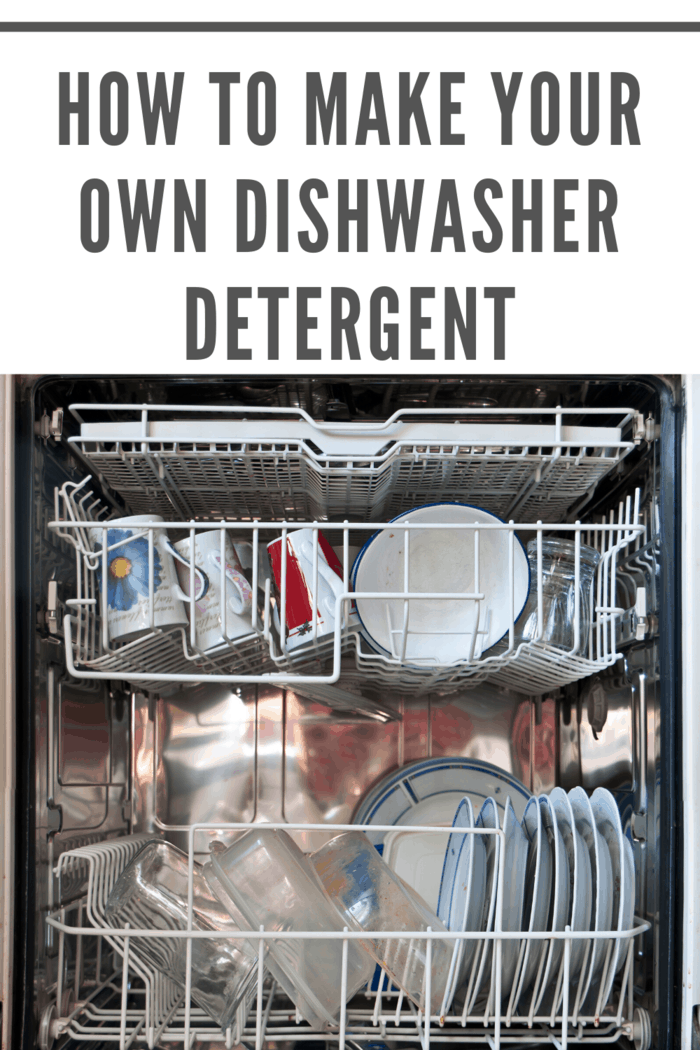 Learn how to make your own dishwasher detergent cubes with this easy step-by-step tutorial.