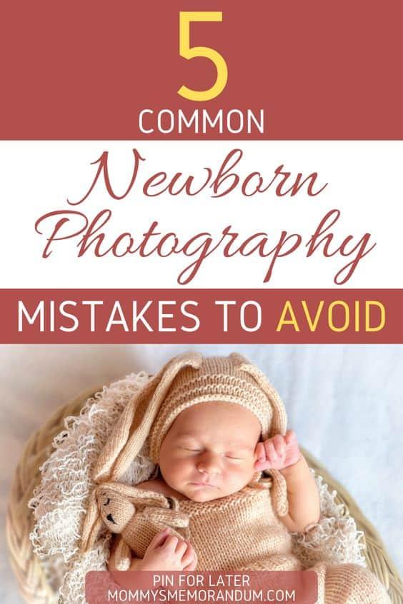 newborn photoshoot mistakes to avoid