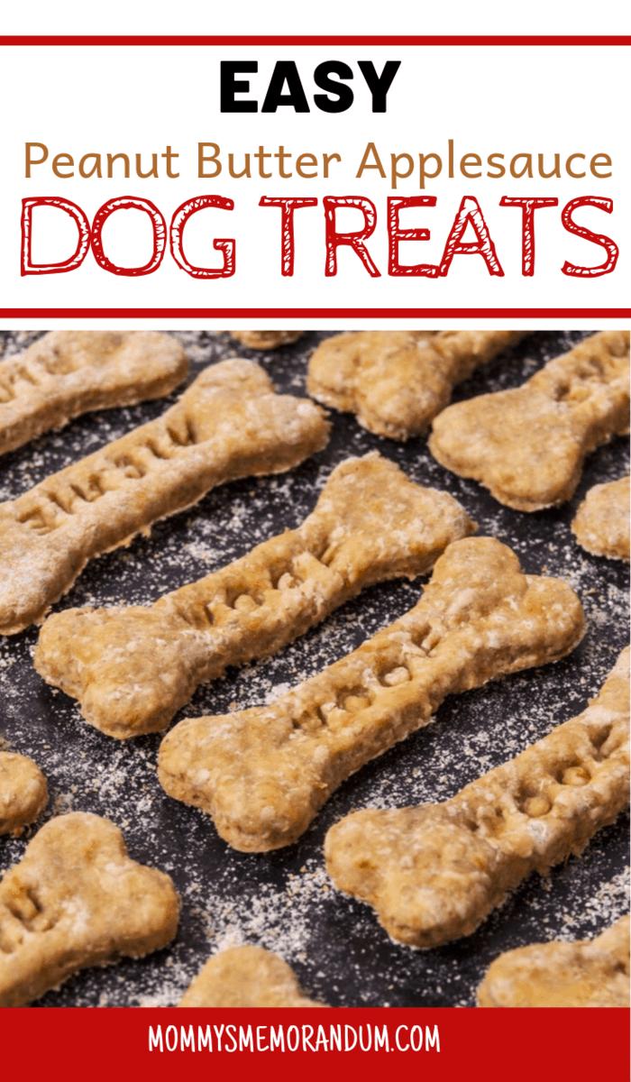 Peanut Butter Applesauce Dog Treats Recipe