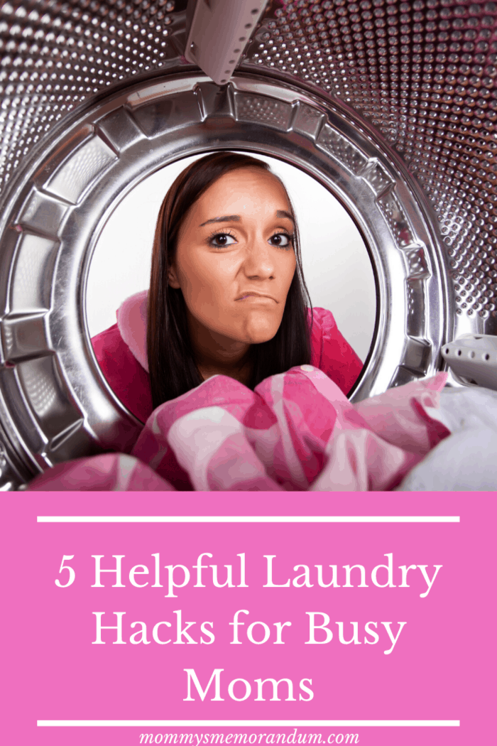 This is perhaps the best of all laundry hacks - getting others to pitch in. And even young kids can participate.