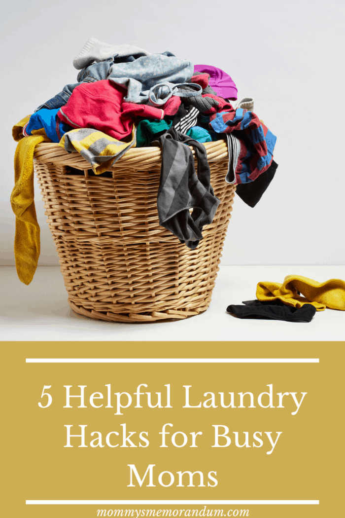 Here are just a few helpful hacks that will ensure your laundry duties are less demanding.