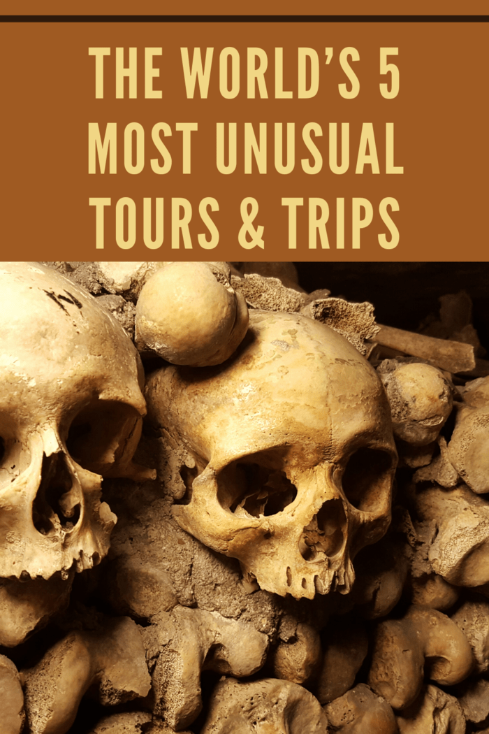 The catacombs themselves are actually the remains of ancient stone mines from centuries ago.