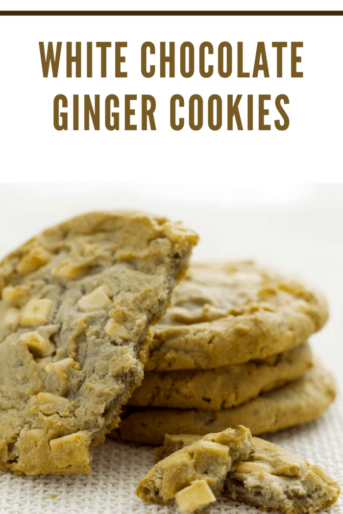 White Chocolate Ginger Cookie recipe has a twist on the traditional favorite cookie--combining the unusual, yet the delicious flavor of ginger with the sweetness of the white chocolate chips, these cookies are sure to be an instant classic with friends and families.