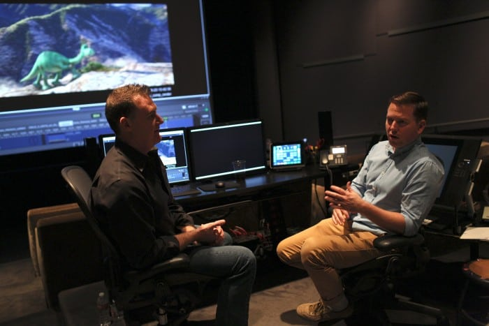 A press day for The Good Dinosaur, including presentations by Animator Kevin O'Hara and Directing Animator Rob Thompson, as seen on October 1, 2015 at Pixar Animation Studios in Emeryville, Calif. (Photo by Deborah Coleman / Pixar)
