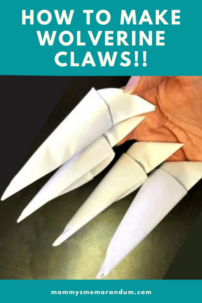How To Make X-MEN WOLVERINE Claws - EASY Origami - YouTube | 1050x700
