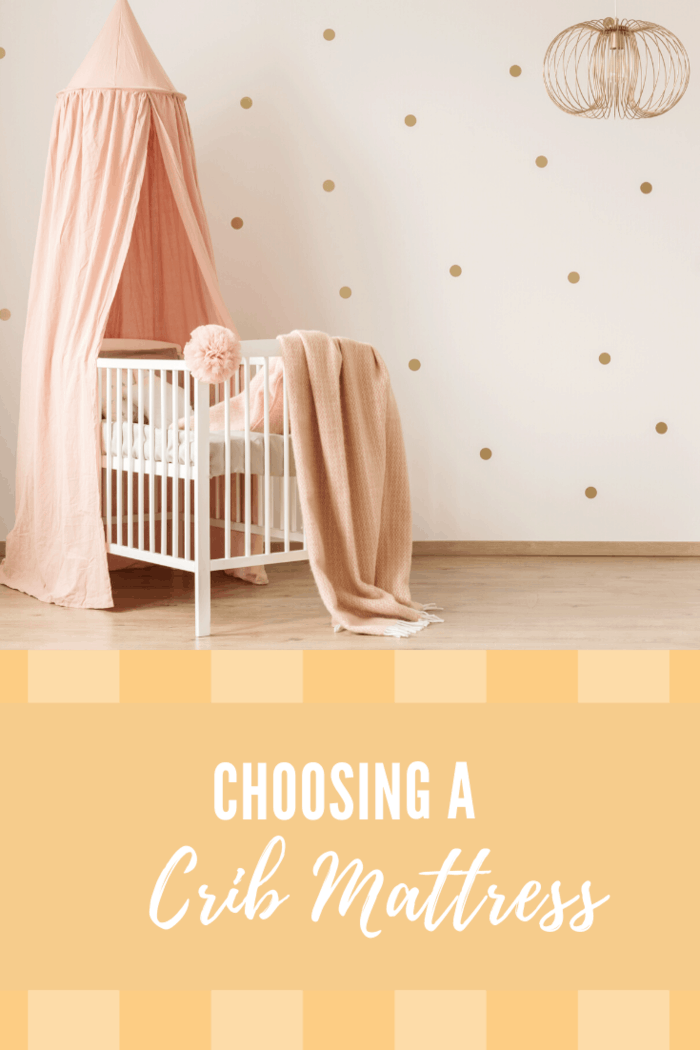 nursery in peach and gold colors
