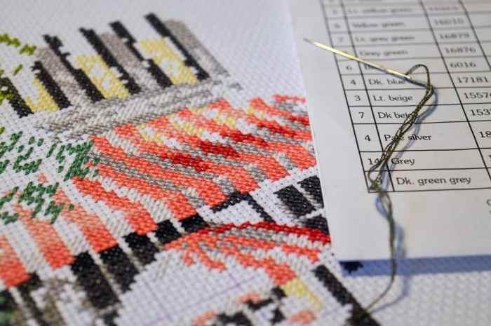 life sometimes needs a good cross stitch