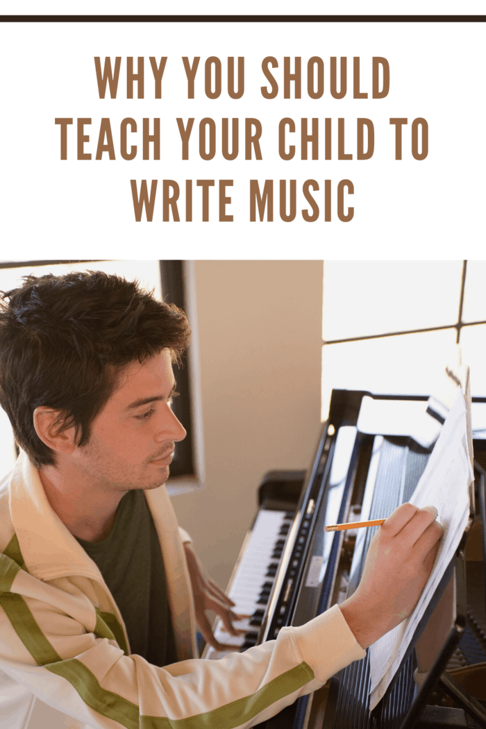 Teaching your kids about music and to writing music may be the start of something grand. It can also be a great and fun bonding experience.