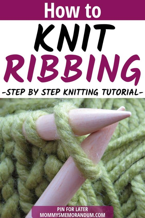 Make the knitting Rib Stitch by doing this step-by step guide on how to knit ribbing.