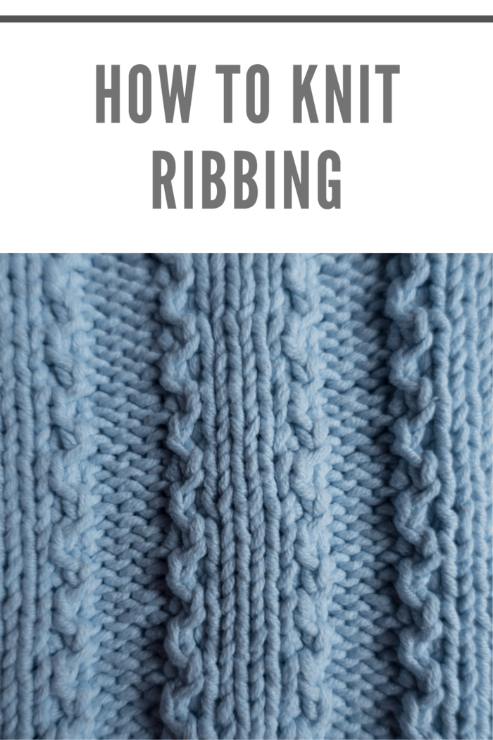 Make the Rib Stitch by doing this step-by step guide on how to knit ribbing.