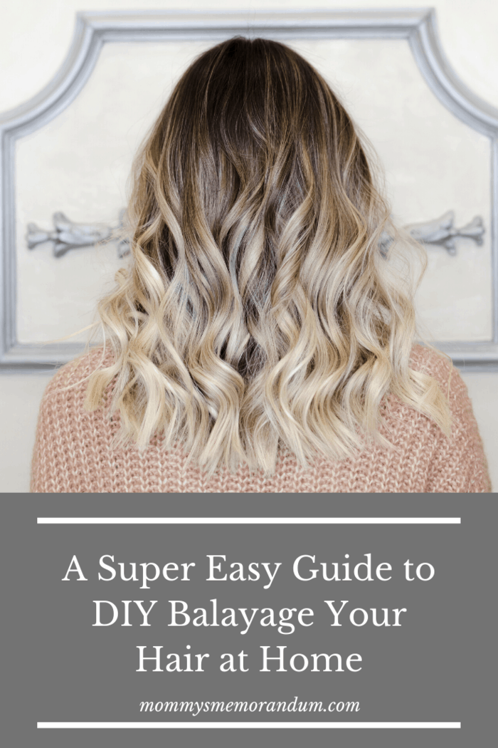 Because the DIY Balayage at home doesn't require bleach or foils, maintaining your color will be a breeze.