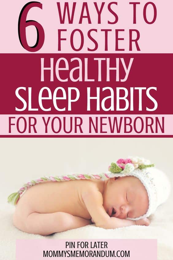 Let's take a look at some helpful tips that can help you establish healthy sleep habits with your baby.