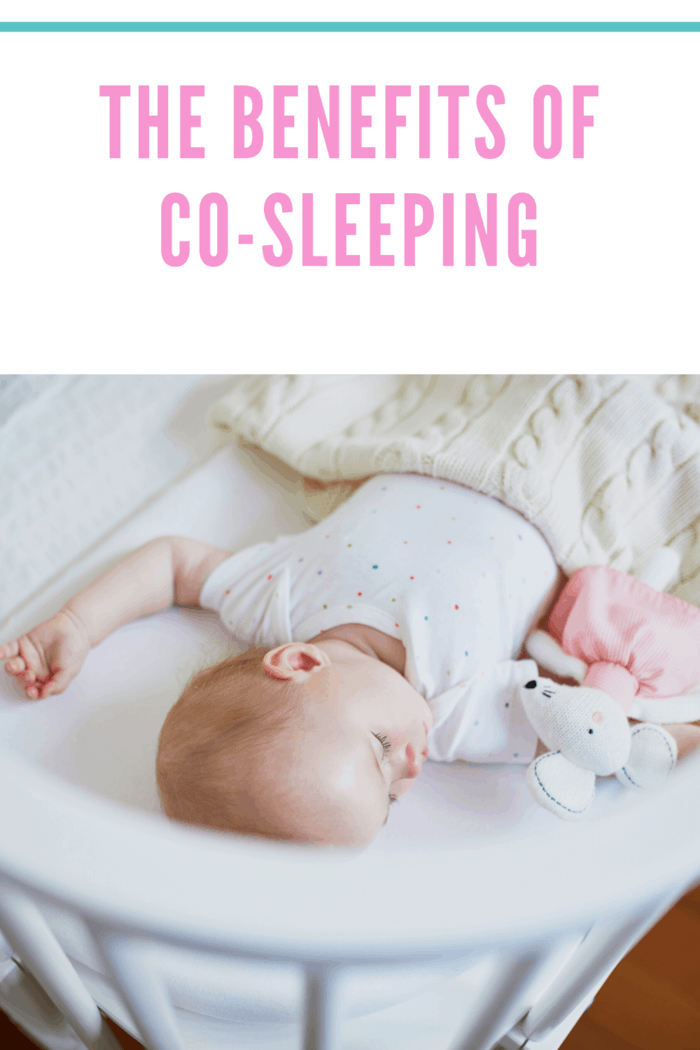 Perhaps most importantly, co-sleeping has been shown to cut the risk of Sudden Infant Death Syndrome (SIDS) in half.