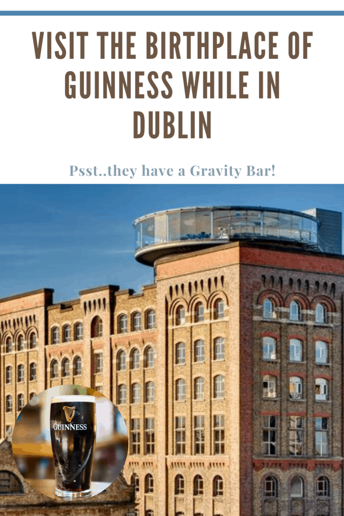 A visit to the birthplace of Guinness is the leading attraction in Ireland and is exceedingly popular with tourists worldwide.