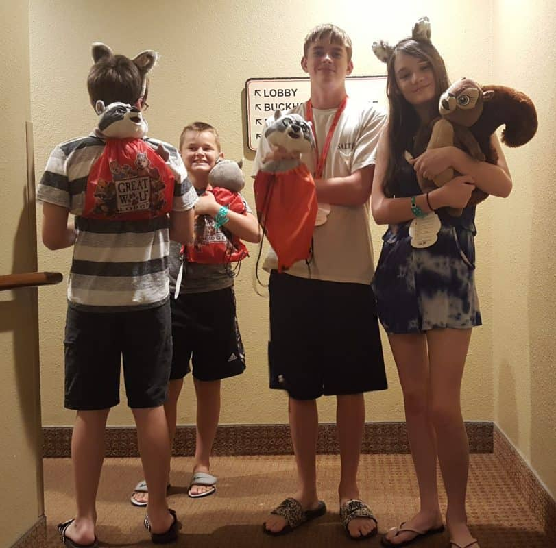 great wolf lodge williamsburg stuffed animals from the creation station