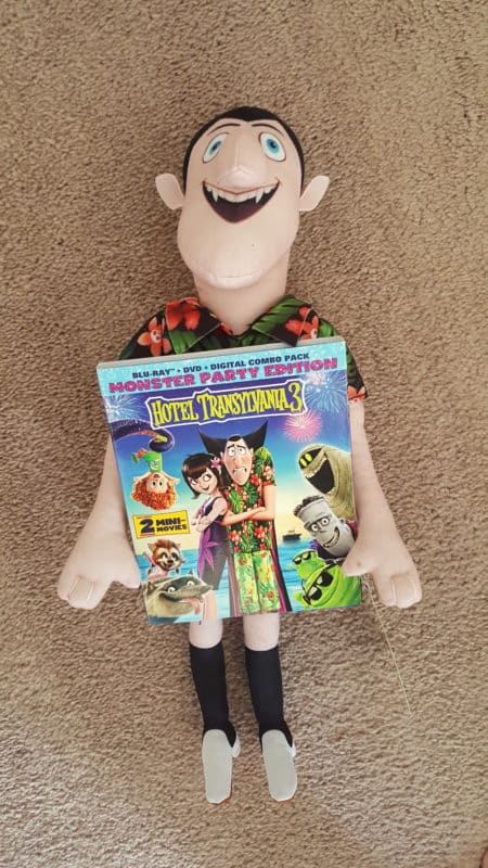 hotel transylvania 3 movie with dracula plush