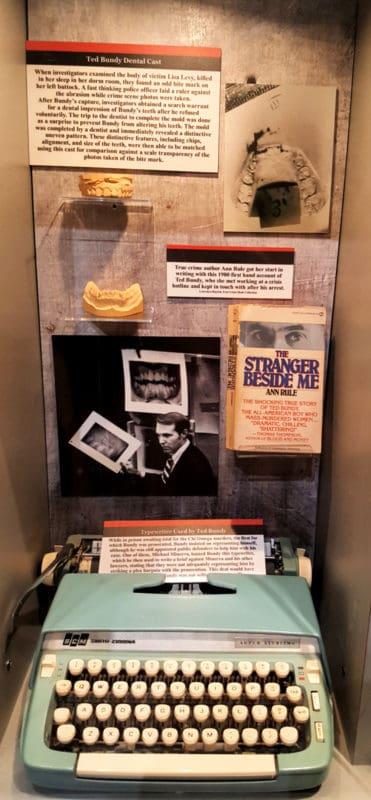 alcatraz east ted bundy's typewriter