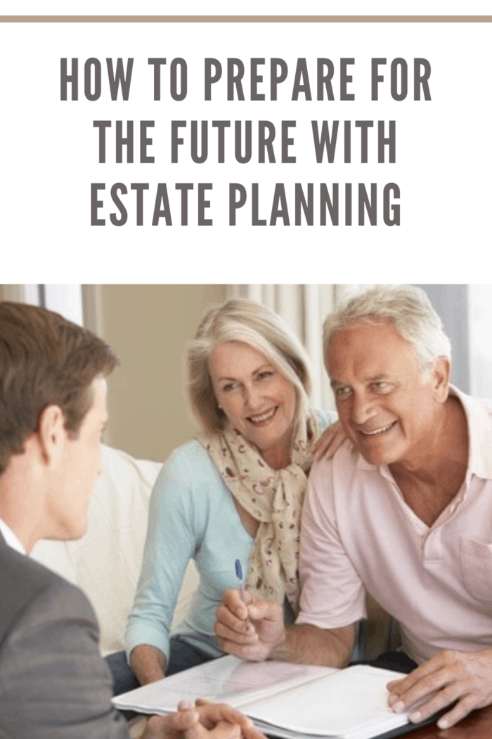 couple doing their estate planning