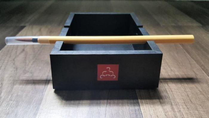 buddha board tray round slot for brush