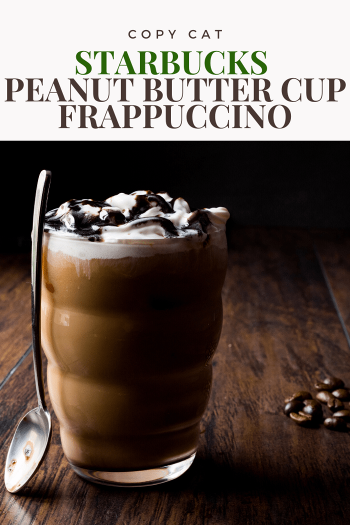 Try out new toppings with this Starbucks peanut butter cup frappuccino copycat recipe. Spice things up and see what new flavors you can come up with!