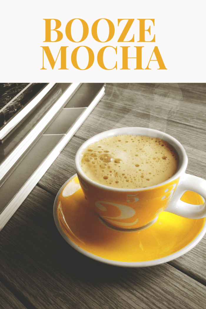 The Booze Mocha coffee is a mix of coffee and chocolate liqueurs found in coffee houses across the country. If you need that extra boost, then this recipe is perfect for you.