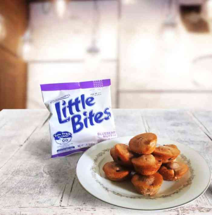 entenmann's little bites on table