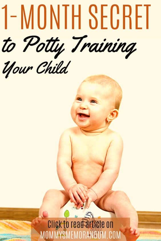 We'll tell you the secrets to potty training your child in just one month. It's all easy and both you and your child will enjoy the process.