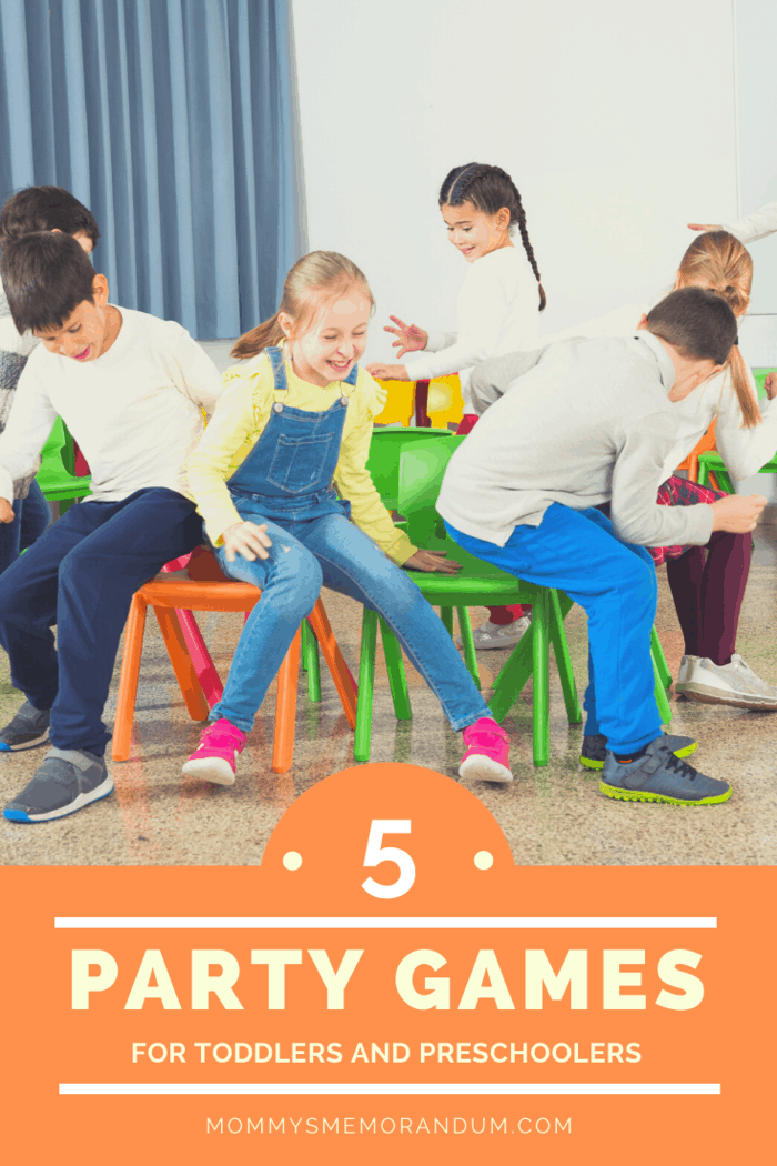 You can even simplify this game, by replacing the chairs with musical bobs or even musical statues for the toddlers.