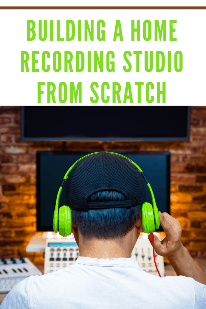 Making your own recording studio is hard, sweaty work but it isn't complicated.
