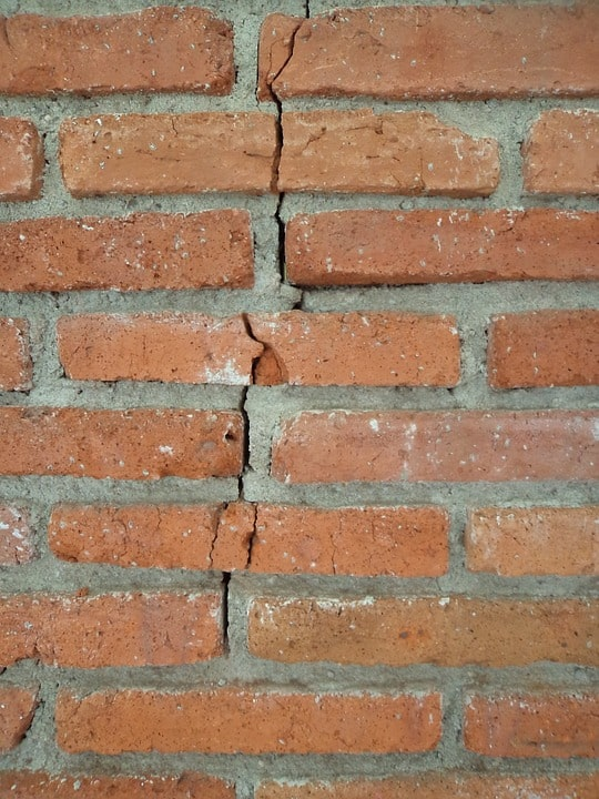 Foundation Repair need on crack in brick foundation