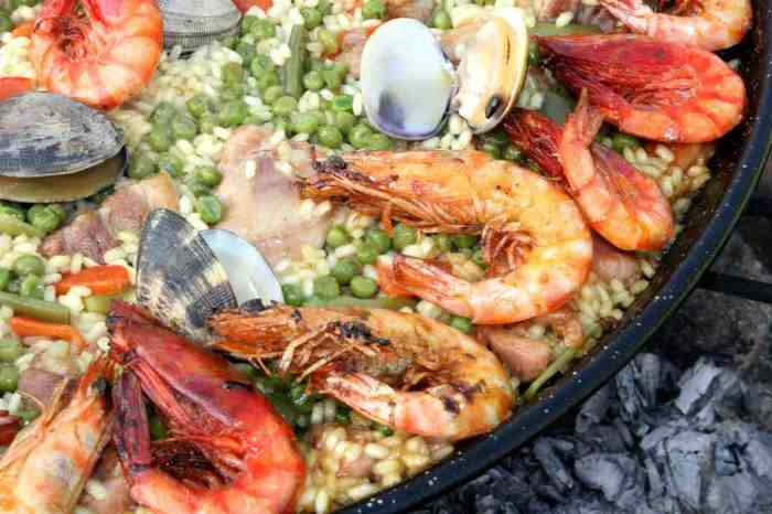 valencia paella This dish hails from the Valencia region of Spain where it's a much-revered meal