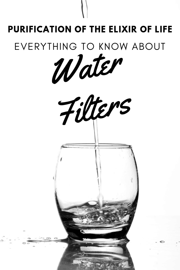 guide to water filters