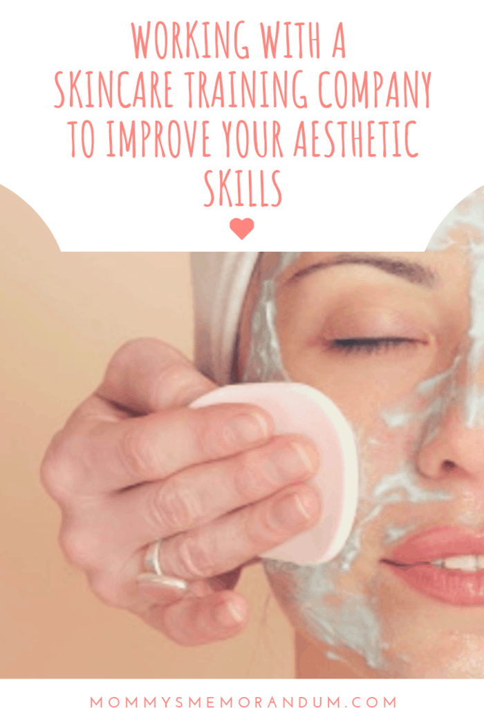Working with a skincare training company could help you improve your aesthetics skills and benefit you greatly in your career.