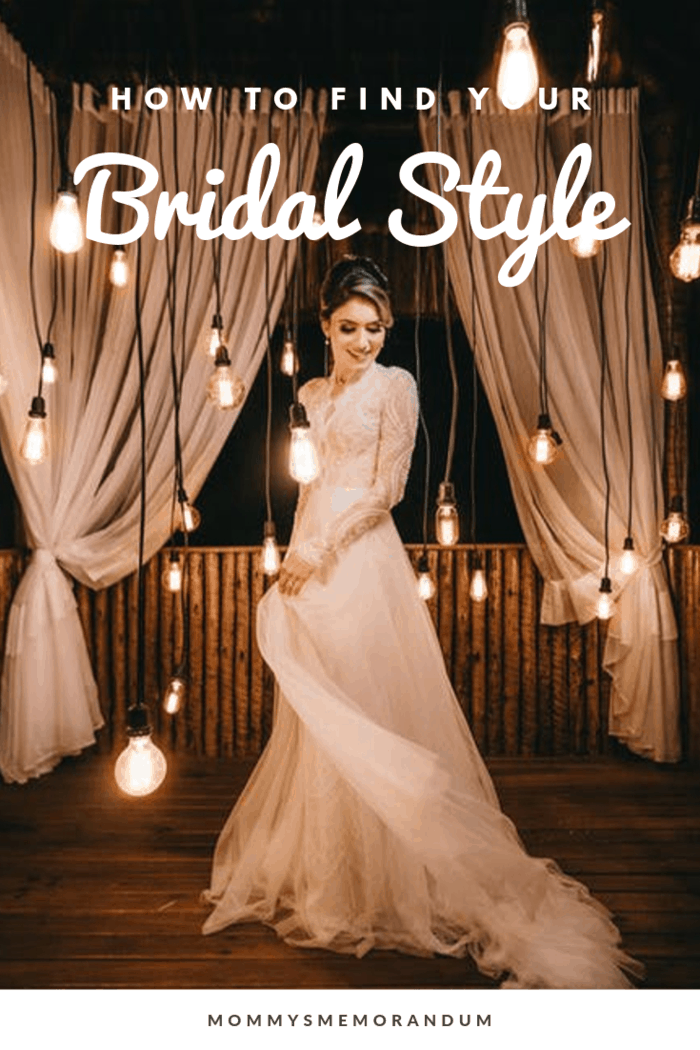 What is your bridal style, from the dress you wear down to the vibe of your reception? You can answer this question by following these steps.