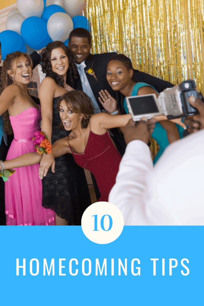 We've compiled helpful homecoming tips to help ease your nerves and your kids' too. Because getting ready for homecoming is a process.