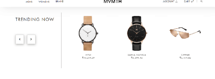 MVMT offers trendy watches at affordable prices