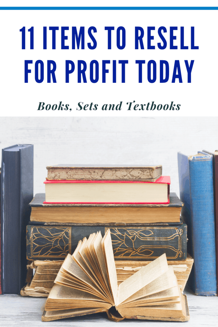 Book reselling is a massive industry with lots of profits to earn.