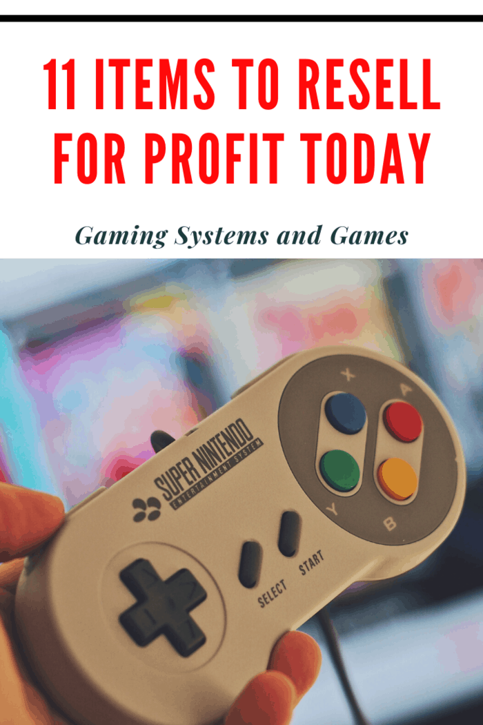 The thing to remember with reselling gaming systems is that they must be old enough or new enough.