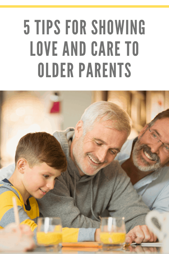 Showing love and care for older parents can significantly drain you, emotionally and physically. These tips will help with showing love and care for them.