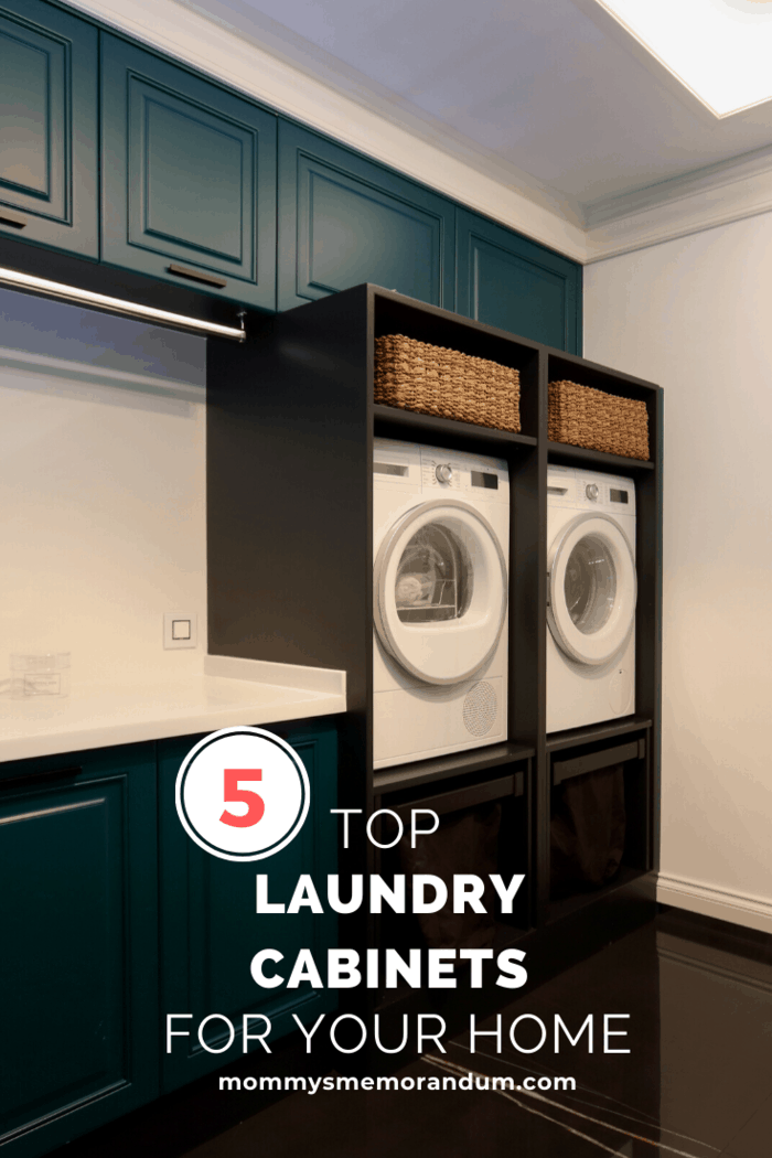 his is one of the easiest ways to utilize the laundry room cabinets ideas in a quick way.