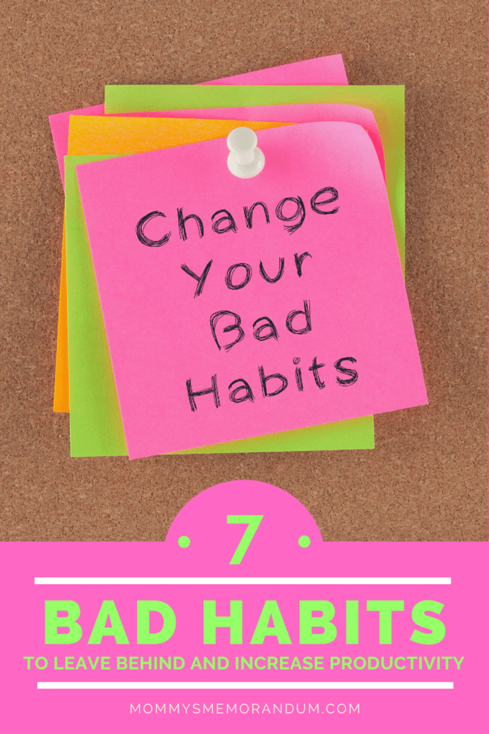 You need to first identify the wrong habits, in order to get rid of them. Removing these habits will help you regain focus and productivity.