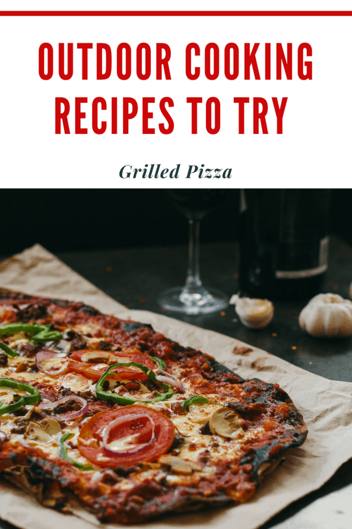 There's nothing easier or more customizable than homemade pizza. This is always a crowd-pleaser, especially if your outdoor kitchen is equipped with a wood-fired pizza oven.