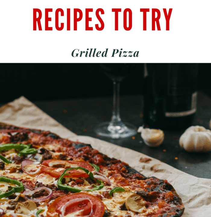 grilled homemade pizza